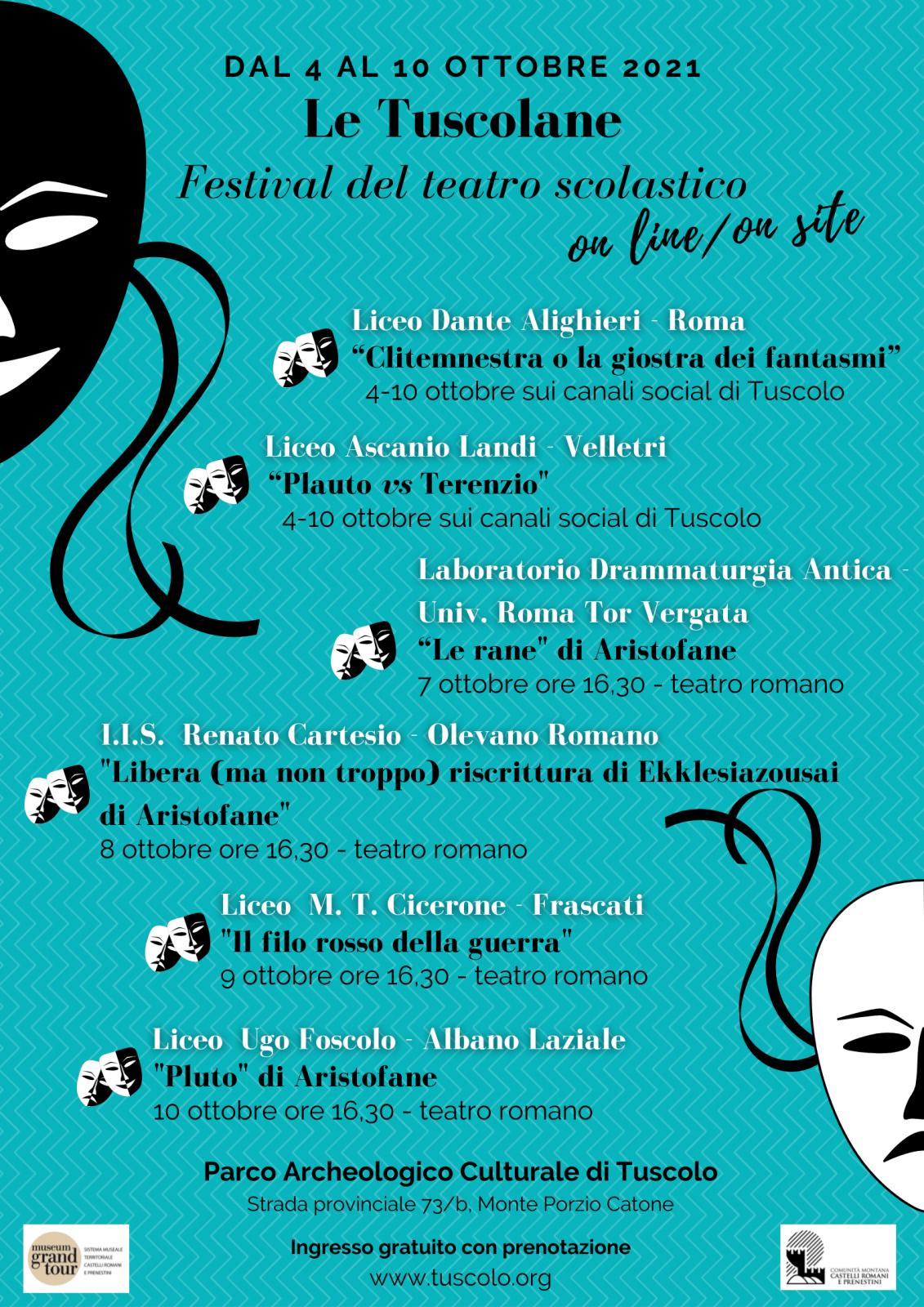 Festival teatro scolastico Le Tuscolane
